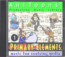AniToons-1 Royalty-Free CD Library